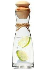 """Original Zillertaler Wasserkaraffe 1L """"Ypsilon"""" inkl. Zirben Zapfen - Zirbenwasser mit wohltuenden Eigenschaften"""