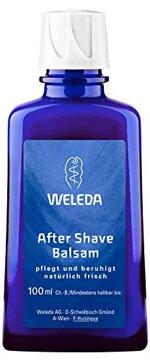 WELEDA After Shave Balsam, Naturkosmetik Rasierwasser zur Pflege und Beruhigung der Haut nach der Rasur, Lotion für reichhaltige Pflege und Schutz vor dem Austrocknen (1 x 100 ml)