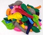Ballonheld 50 große Premium Luftballons 100% Bio, Freie Farbwahl 40 Farben 27cm Durchmesser, heliumgeeignet, für Party, Geburtstag, Feiern (bunt)