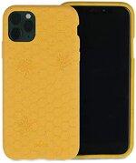 Pela - Hülle für das iPhone 11 Pro - 100% kompostierbar - Biologisch abbaubar - Aus Pflanzen hergestellt - Abfallfrei (Honey Bee)