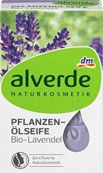 alverde NATURKOSMETIK Seife Pflanzenöl Lavendel, 1 x 100 g