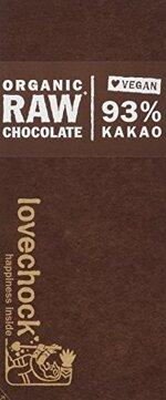 Lovechock Bio Raw Choco vegan, Kakao 93% ( 70 g)