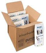 5kg +1kg Waschsoda purux Reine Soda nachhaltig verpackt Pulver