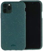 Pela - Hülle für das iPhone 11 Pro - 100% kompostierbar - Biologisch abbaubar - Aus Pflanzen hergestellt - Abfallfrei (Green)