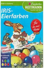 Iris-Eierfarben Tabletten (3er Pack)