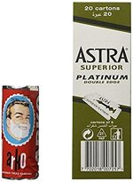 100Astra Superior Platinum und Arko Rasierseife Stick