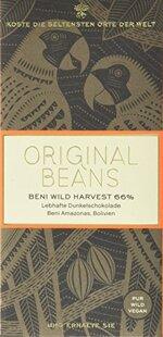 Original Beans Beni Wild Harvest 66 %, 2er Pack (2 x 70 g)