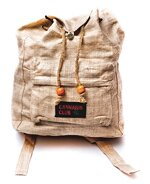 BAD TASTE Rucksack CANNABIS CLUB 100% Hanf natur