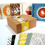Bright Stem 24 Kleine Grußkarten / danken Ihnen Karten Mixed-Pack