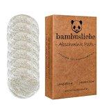 bambusliebe - DAS ORIGINAL - Made in Germany - Wiederverwendbare Abschminkpads inkl. Waschsack - 7 Pads, für jeden Wochentag - Waschbar, nachhaltig, langlebig, umweltschonend - Zero Waste