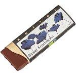 Zotter Bergmilchschokolade mit karamellisiertem Blaumohn, handgeschöpft (70 g) - Bio