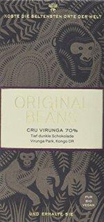 Original Beans Cru Virunga, 2er Pack (2 x 70 g)
