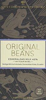 Original Beans Esmeraldas Milk, 2er Pack (2 x 70 g)