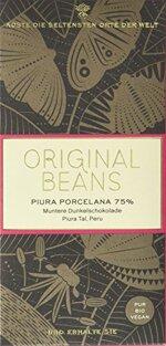 Original Beans Piura Porcelana 75 %, 2er Pack (2 x 70 g)