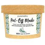 """puremetics Zero Waste Peel-Off Maske""""Anti-Unreinheiten - Mit Spirulina Alge""""   100% natürlich, vegan & plastikfrei   Naturkosmetik ohne Plastik   Für unreine, fettige Haut & Akne"""