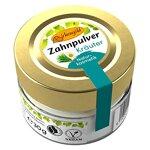 Birkengold Zahnpulver Kräuter 30 g Glas | Plastikfrei | Im Glastiegel Verpackt | 100% Natürliche Zutaten | Keine Schaumbildner Und Konservierungsstoffe