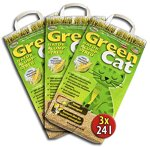 Green Cat 6x12 =72 Liter GreenCat ÖKO-Plus NATURSTREU S KATZENSTREU STREU CornCat innerhalb Deutschlands (außer Inseln)