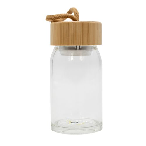 Stylische Getränkeflasche/Trinkflasche aus Glas | ohne Plastik | 4bet, 19,90 €