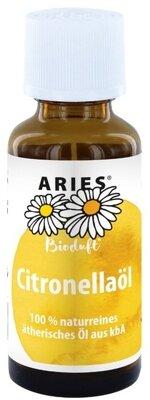 ARIES - naturreines ätherisches BIO-Citronellaöl