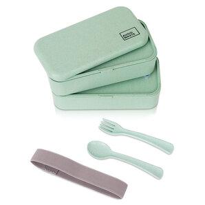 Avoidwaste - Avoidwaste nachhaltige Lunchbox mit Weizenstroh 900ml
