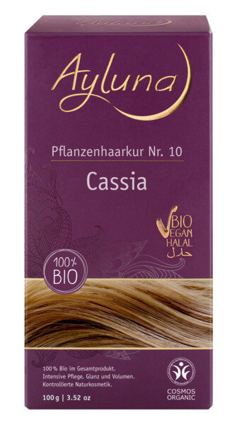 Ayluna - Pflanzenhaarkur Cassia