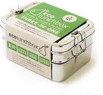 ECOlunchbox - ECOlunchbox Three-in-One, 3-teilige Brotdose aus Edelstahl