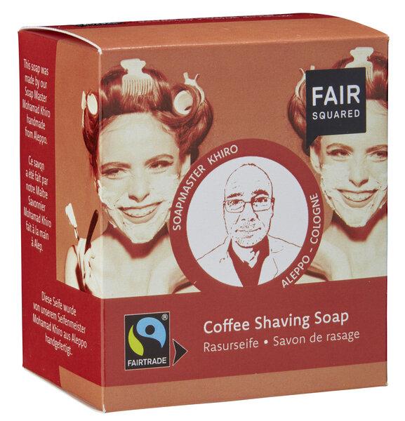Fair Squared - FAIR SQUARED Coffee Shaving Soap / Rasurseife 2x80gr.