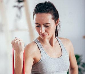Fairzone - Fitness- und Yogaband aus fair gehandeltem Latex