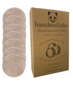 bambusliebe - Abschminkpads (7er Pack inkl. Waschsack) Made in Germany - DAS ORIGINAL
