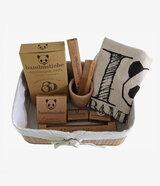 bambusliebe - Bambus Geschenkkorb Set