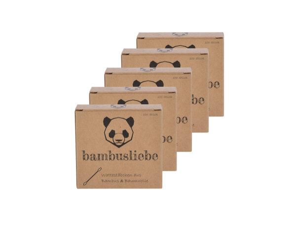 bambusliebe - Bambus Wattestäbchen