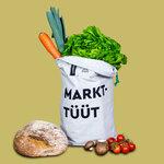umtüten - Obstbeutel Gemüsebeutel / hält frisch mit Inlay / plastikfrei