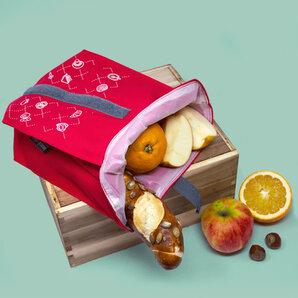 umtüten - Snack Beutel für unterwegs / Inlay plastikfrei / hält natürlich frisch
