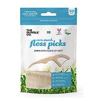 Humble Dental Floss Picks - Zahnseide Sticks (50 Stück)
