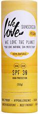 We Love The Planet Natürlicher Sonnenschutzstick LSF 30