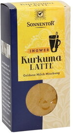 Kurkuma Latte Ingwer Packung, 60 g