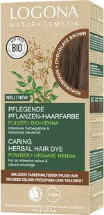 Pflanzen-Haarfarbe Pulver 091 Schokobraun 100 g