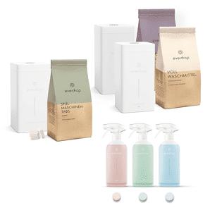 Weltretter-Set (Spülmaschinentabs, Waschmittel & Putzmittel)