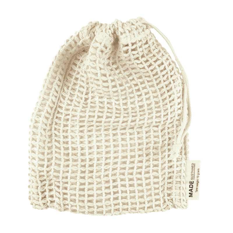 Wäsche- und Seifensäckchen aus Bio-Baumwolle   hello simple