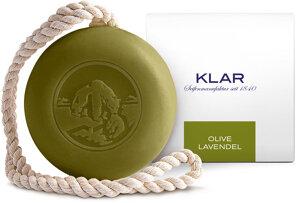Haar- & Körperseife Olive/Lavendel 250g, Cosmos zertifiziert, palmölfrei