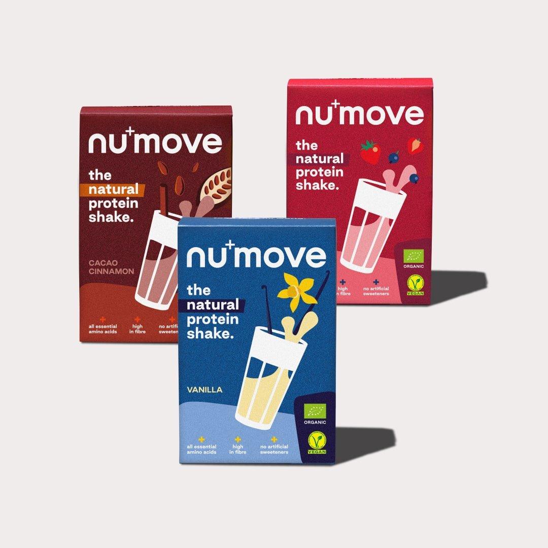 numove shake - Proteinpulver - the nu company