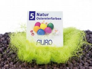 Natürliche Eierfarben - Eierfärben mit Naturfarben von Auro