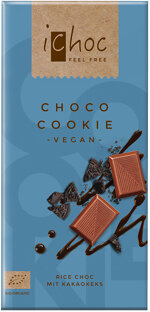 iChoc Choco Cookie-Schokolade vegan aus bester Bio-Qualität