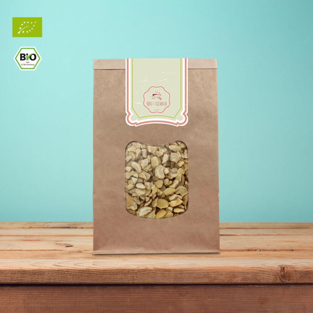 Bio Cashewkerne | Bruch | süssundclever.de