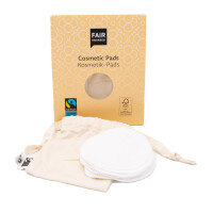 Fair Squared waschbare Abschminkpads aus Bio Baumwolle