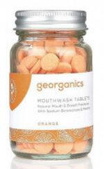 Georganics natürliche Mundwassertabletten Orange