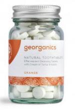 Georganics natürliche Zahnputztabletten Orange