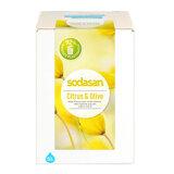 SODASAN Flüssigseife mit Bio-Olivenöl und Citrusduft, 5 l   Waschbär