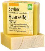 Savion Haarseife Natur, 85 g | Waschbär