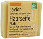 Savion Haarseife Natur ohne Duftstoffe, 85 g | Waschbär